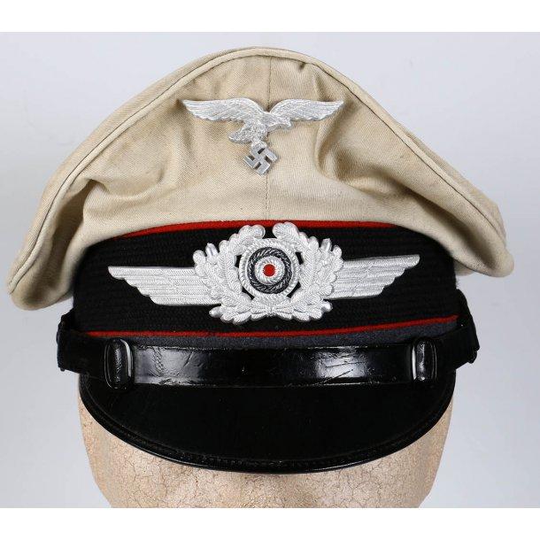 Luftwaffe Artillery EM/NCO's summer visor cap