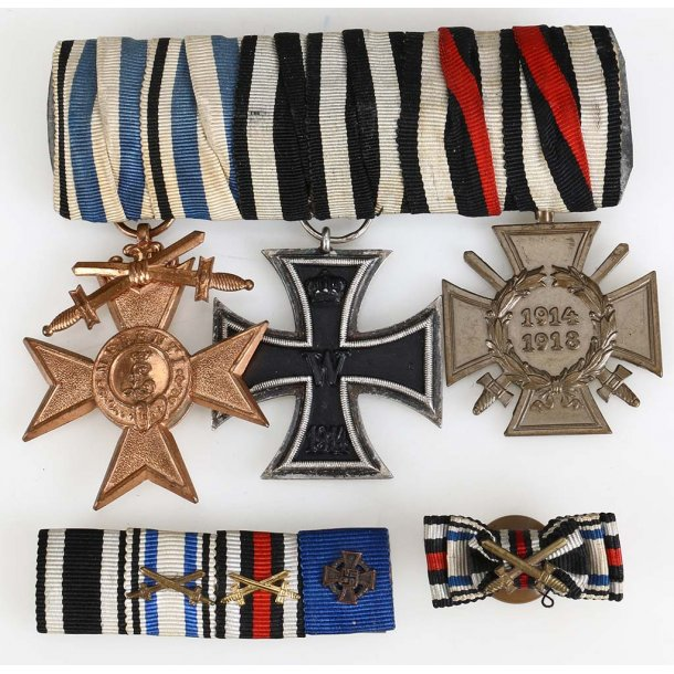 3-place Imperial medal bar
