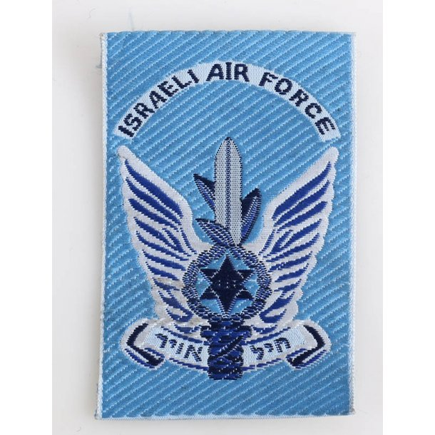 Israeli Air Force cloth patch