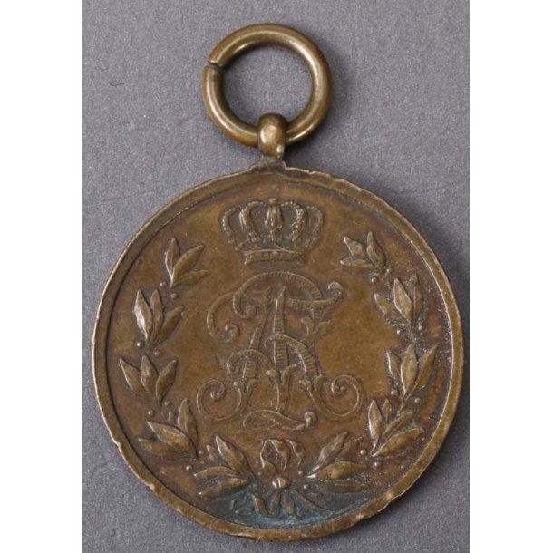 Friedrich August 1914 medal in bronze