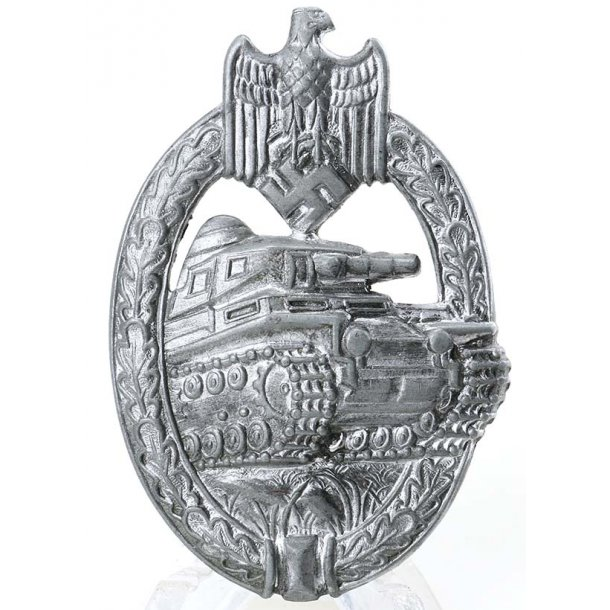 Panzer Assault Badge  in Silver 'A.S'
