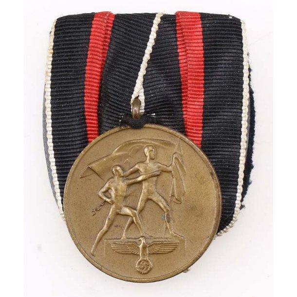 October 1 1938 Com. single medal bar