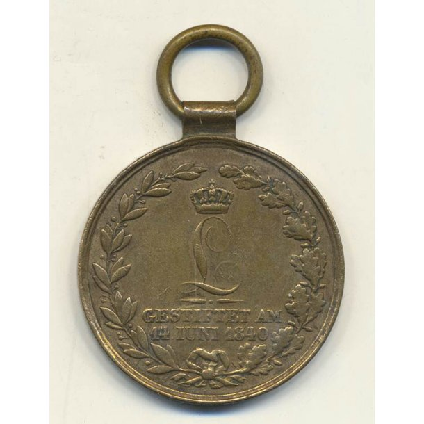 For loyal service in war medal - Hessen 1840-1866