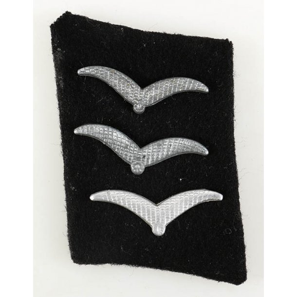 Luftwaffe temporary camp guard collar tab