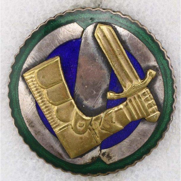 Finnish White guard elite class badge