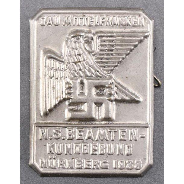 Gau Mittelfranken - Nürnberg 1933 tinnie