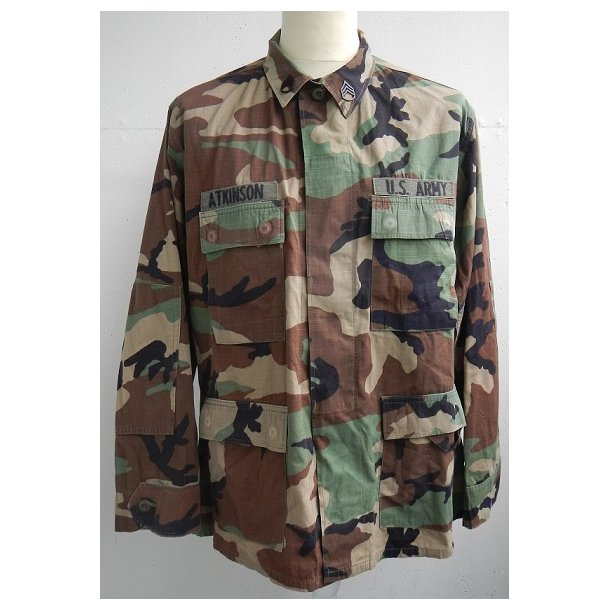 US Army Woodland field jacket