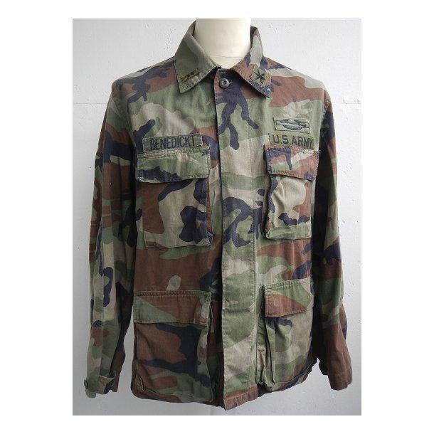 US Army Woodland field jacket