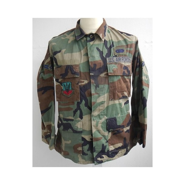 US Airforce Woodland field jacket