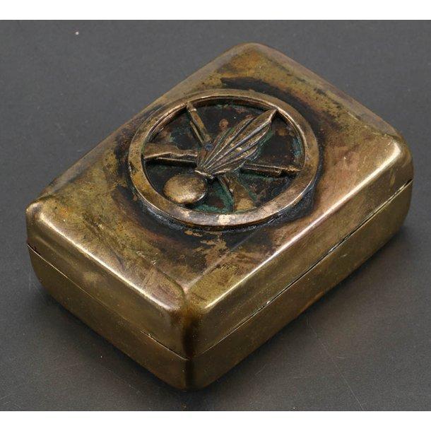 French WW1 army  Infantry brass box