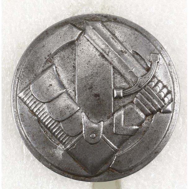 Finnish White guard 4th class badge in iron