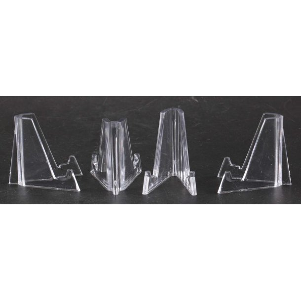 Display stands - Clear - Set of 10