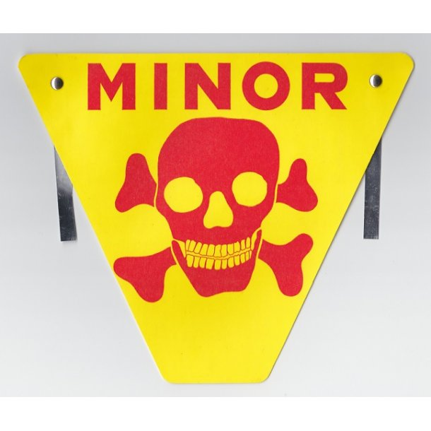 Warning sign - Mines!