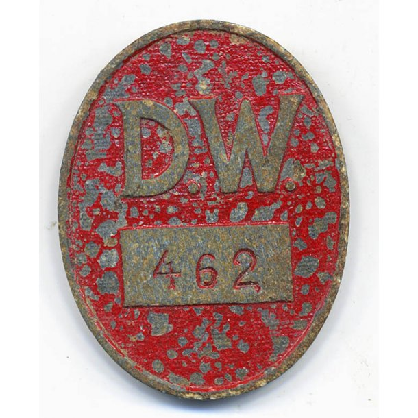 Factory workers ID badge