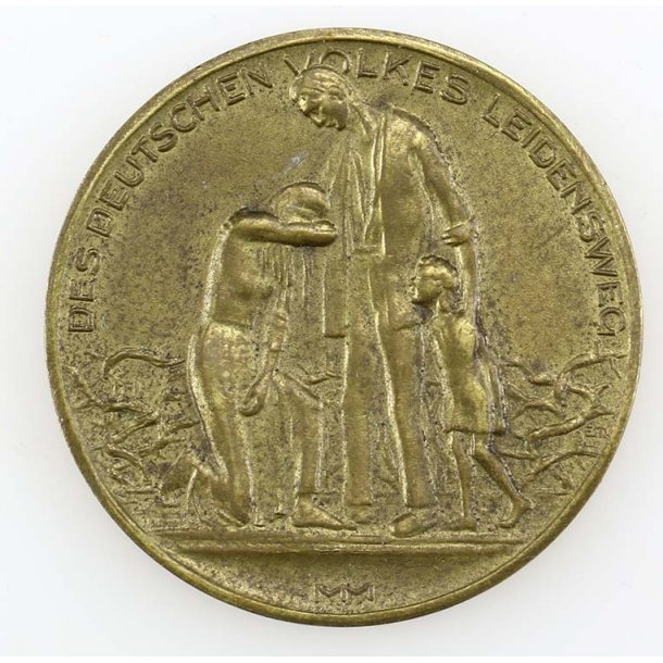 Inflation coin/medal 1st November 1923