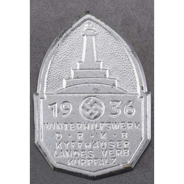 DRKB Kyffhäuser 1936 Landes Verb Kurpfalz