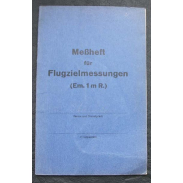 Notebook for Luftwaffe training