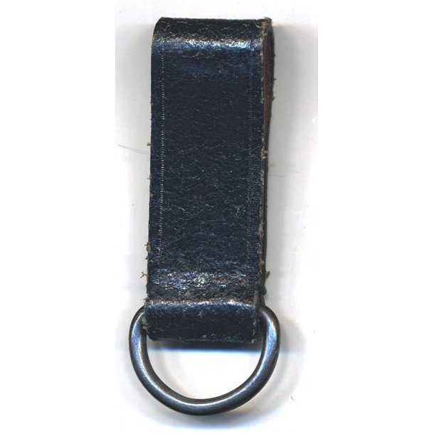 Belt loop strap with D-ring