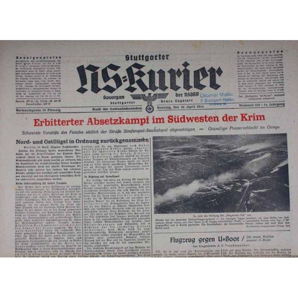 NS Kurier 16 Apr 1944