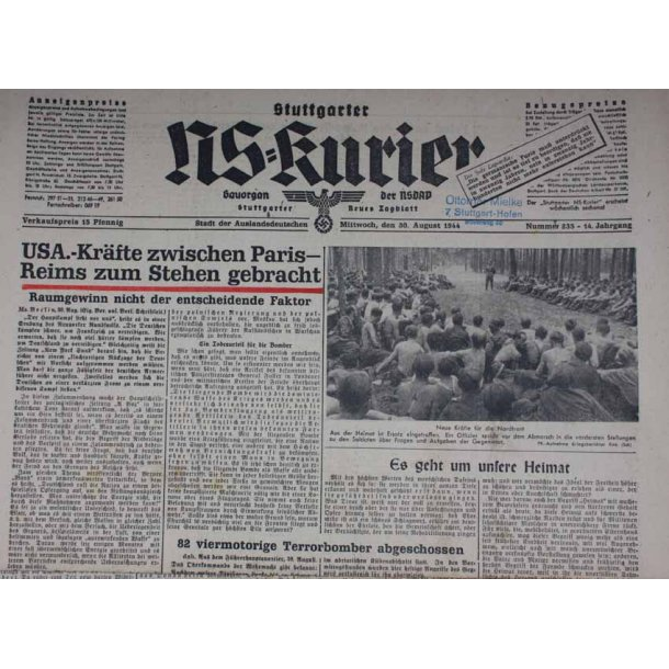NS Kurier 30 Aug 1944