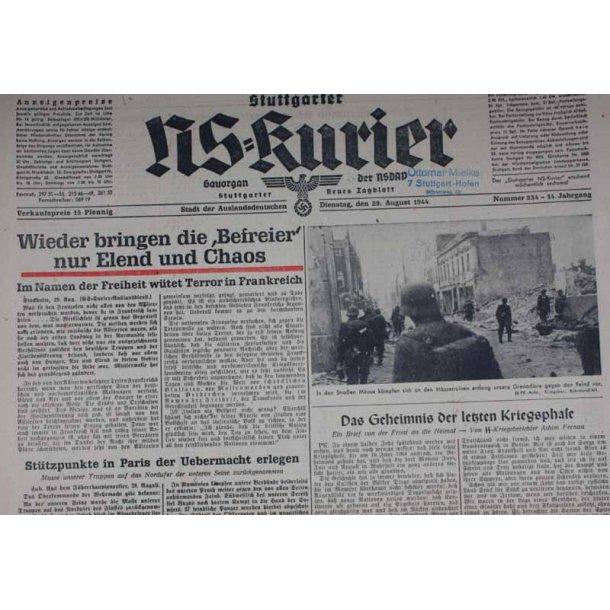 NS Kurier 29 Aug 1944