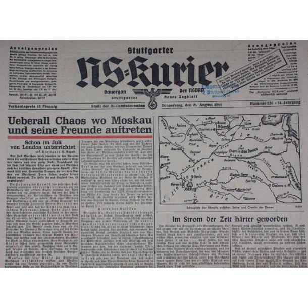NS Kurier 31 Aug 1944