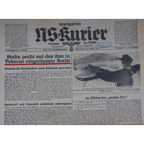 NS Kurier 20 Jan 1944