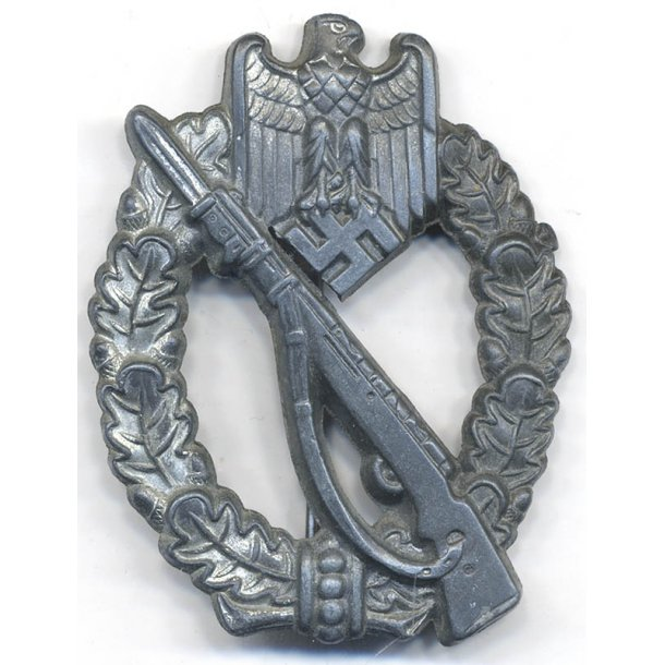 Infantry assault badge in Silver 'S&H'