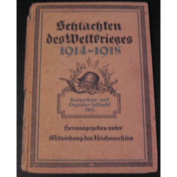 Schlachten des Weltkriege 1914-1918 (Reichsarchiv)