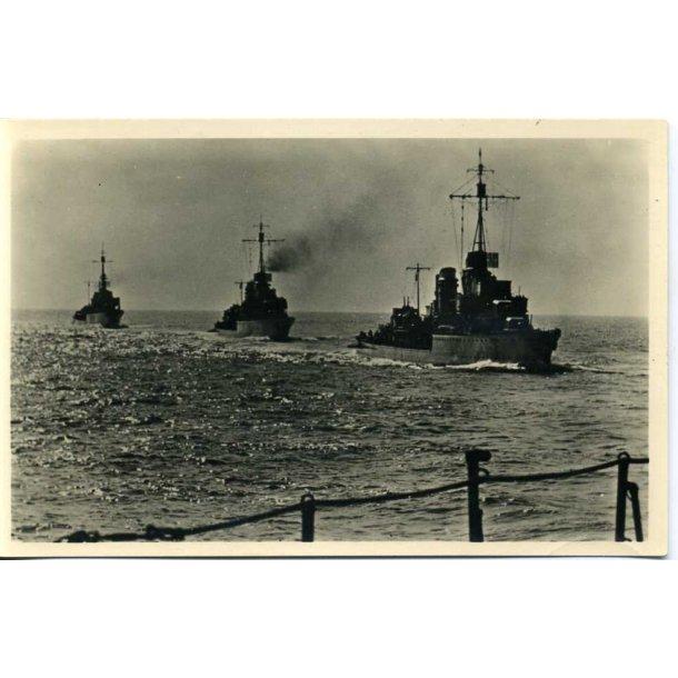 Kriegsmarine 3 ship convoy