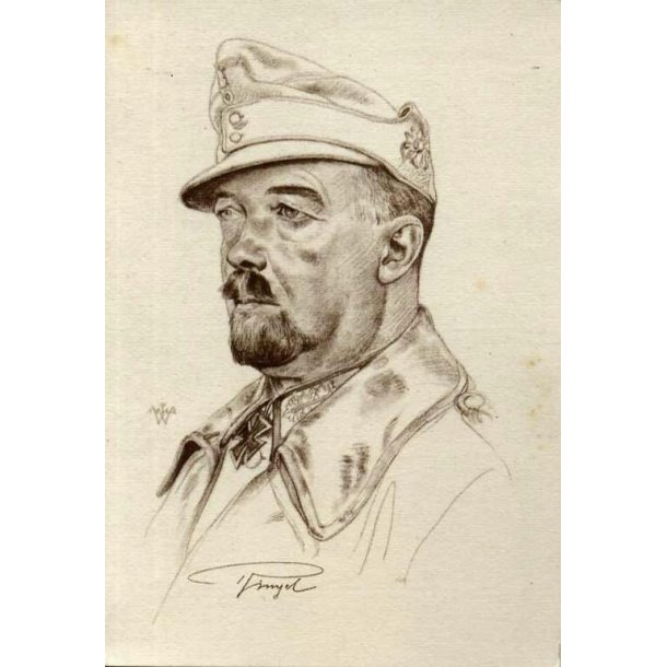 Willrich card - Generalmajor Julius Ringel