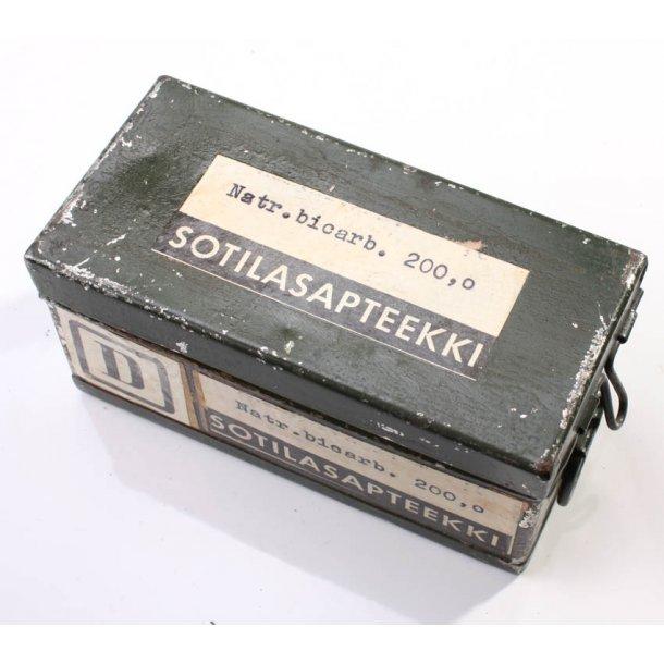 Finnish army medical metal box