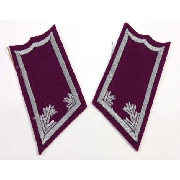 Finnish Officer Collar tabs for pioneer troops