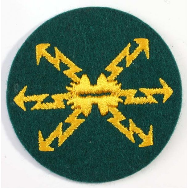 Signal Sergeant's Sleeve Badge