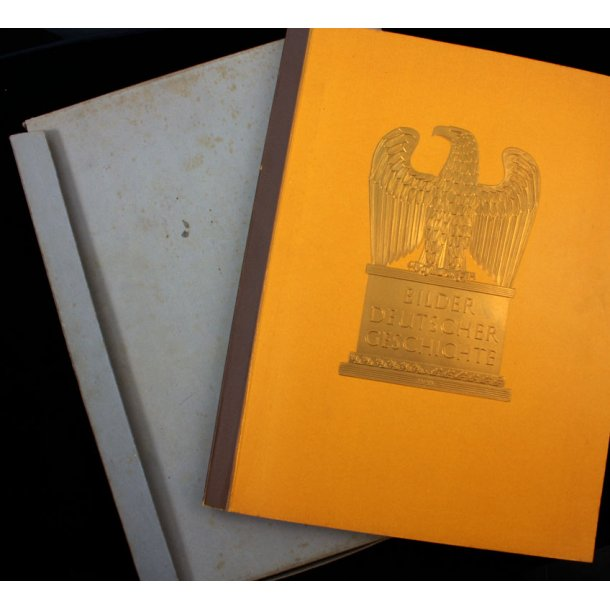 German History in pictures- Cigarette Card Album