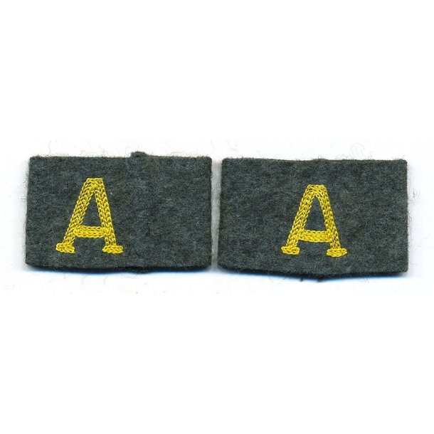 Army Signals intelligence 'A' strap slide on
