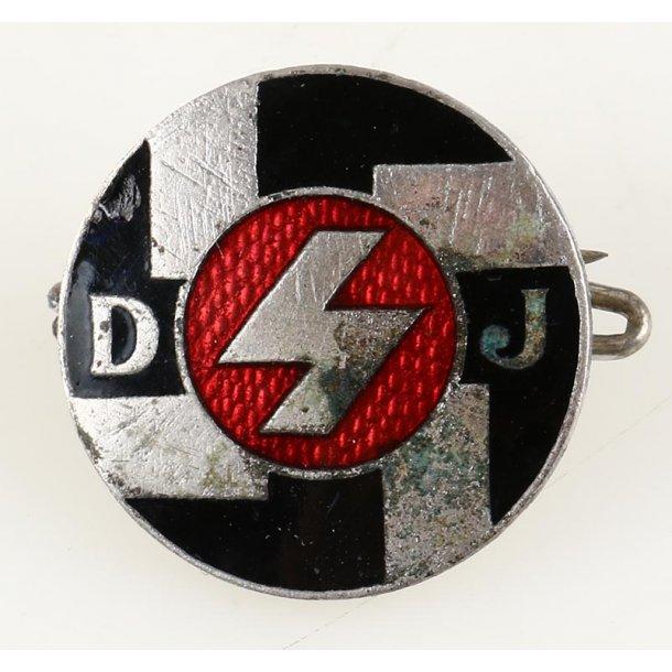 DJ member's badge 'Ges Gesch'