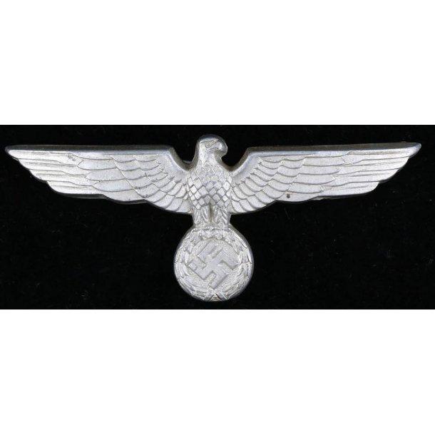 Army EM/NCO's visor cap eagle in metal