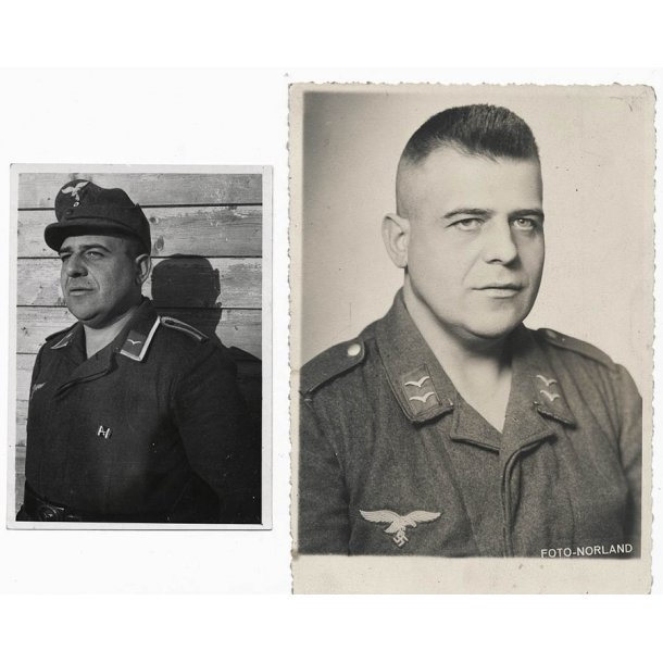 Luftwaffe Soldier photo lot