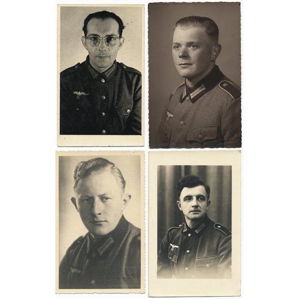 Army portrait photo lot