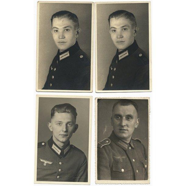 Army soldier portrait photo lot