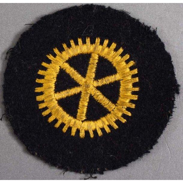 Kriegsmarine machine engine em's sleeve insignia
