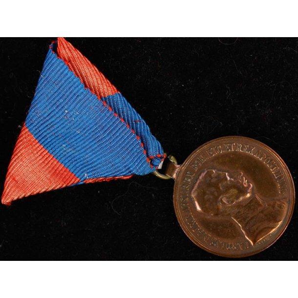 Austria. Bravery Medal, ''Fortitvdini'', 1917-1918