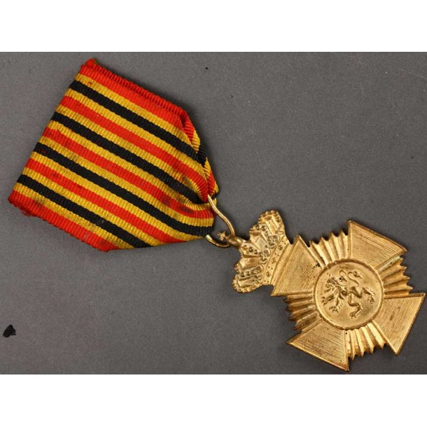 Belgian Mlitary Decoration for Long Service 2nd Cl