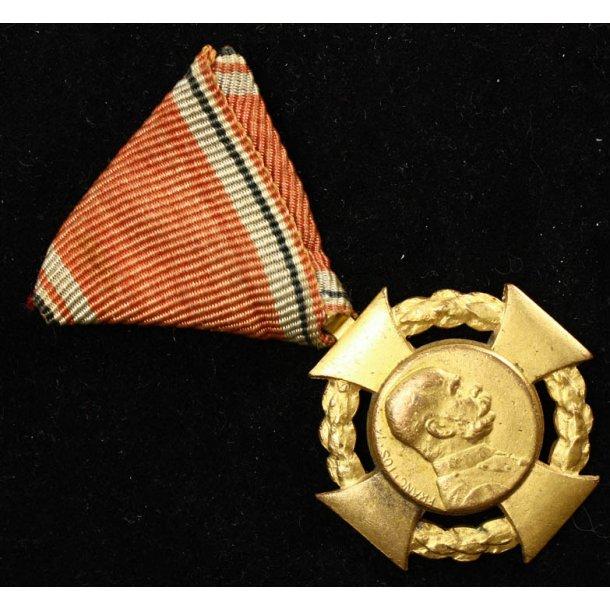 German-Austrian Crown Jubilee Cross  1848-1908
