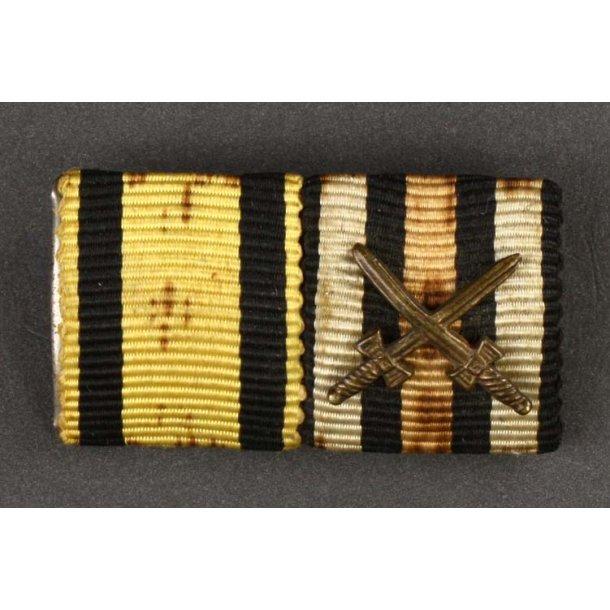 Military Merit Order & Hindenburg ribbon bar