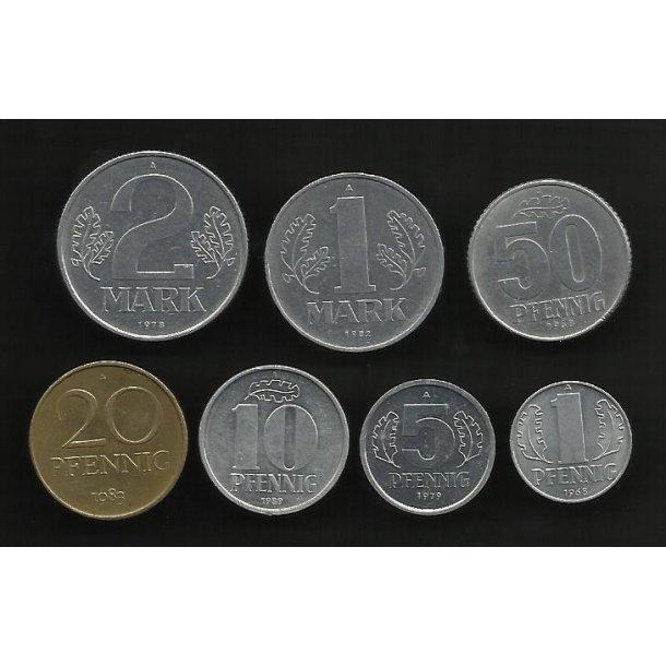 DDR, Coins (Complete set)