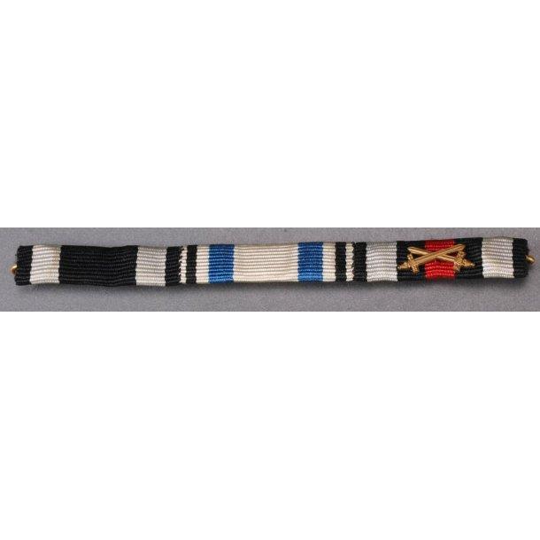 Ek2, Bayern war merit cross, Hindenburg ribbon bar