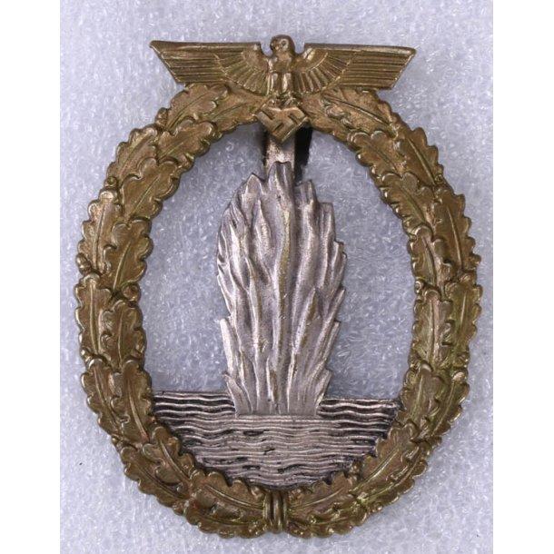 Kriegsmarine Mine Sweeper badge 'AS?'