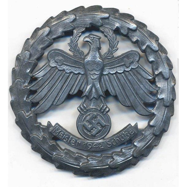 Tirolen State Shooting Award 'Meisterschütze 1942'